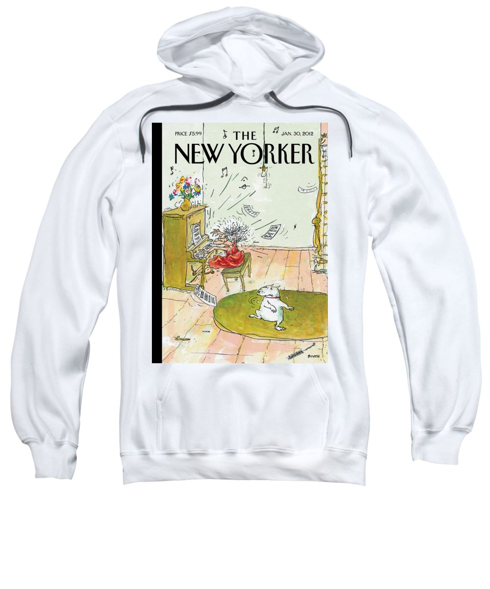 Woman Sweatshirt featuring the photograph Winter Blues by George Booth