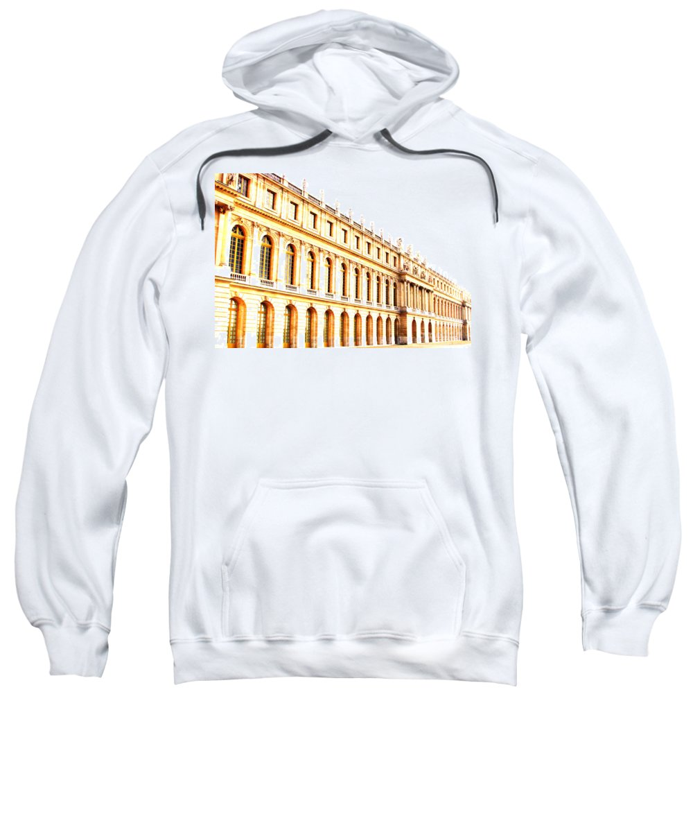 Versailles Sweatshirt featuring the photograph The Palace by Amanda Barcon