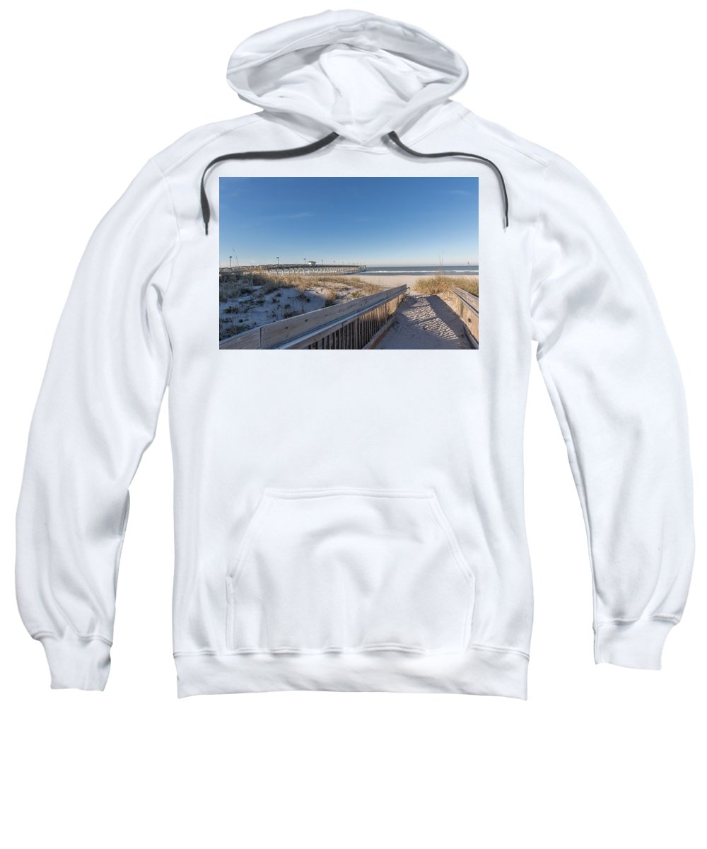 Beach Sweatshirt featuring the photograph The Path To Relaxation by Joseph Toth