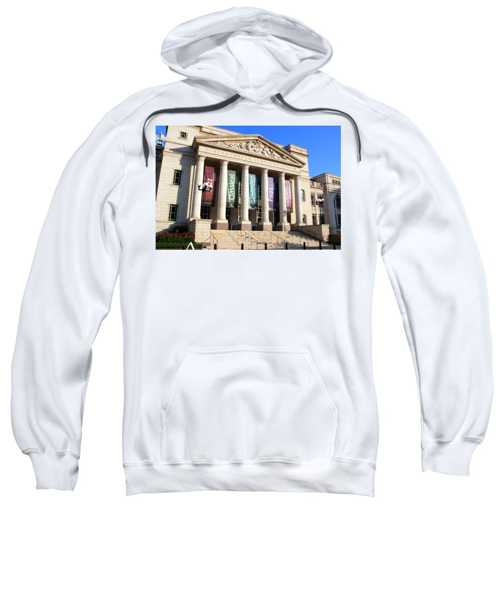 Nashville Sweatshirt featuring the photograph The Schermerhorn Symphony Center by Susanne Van Hulst