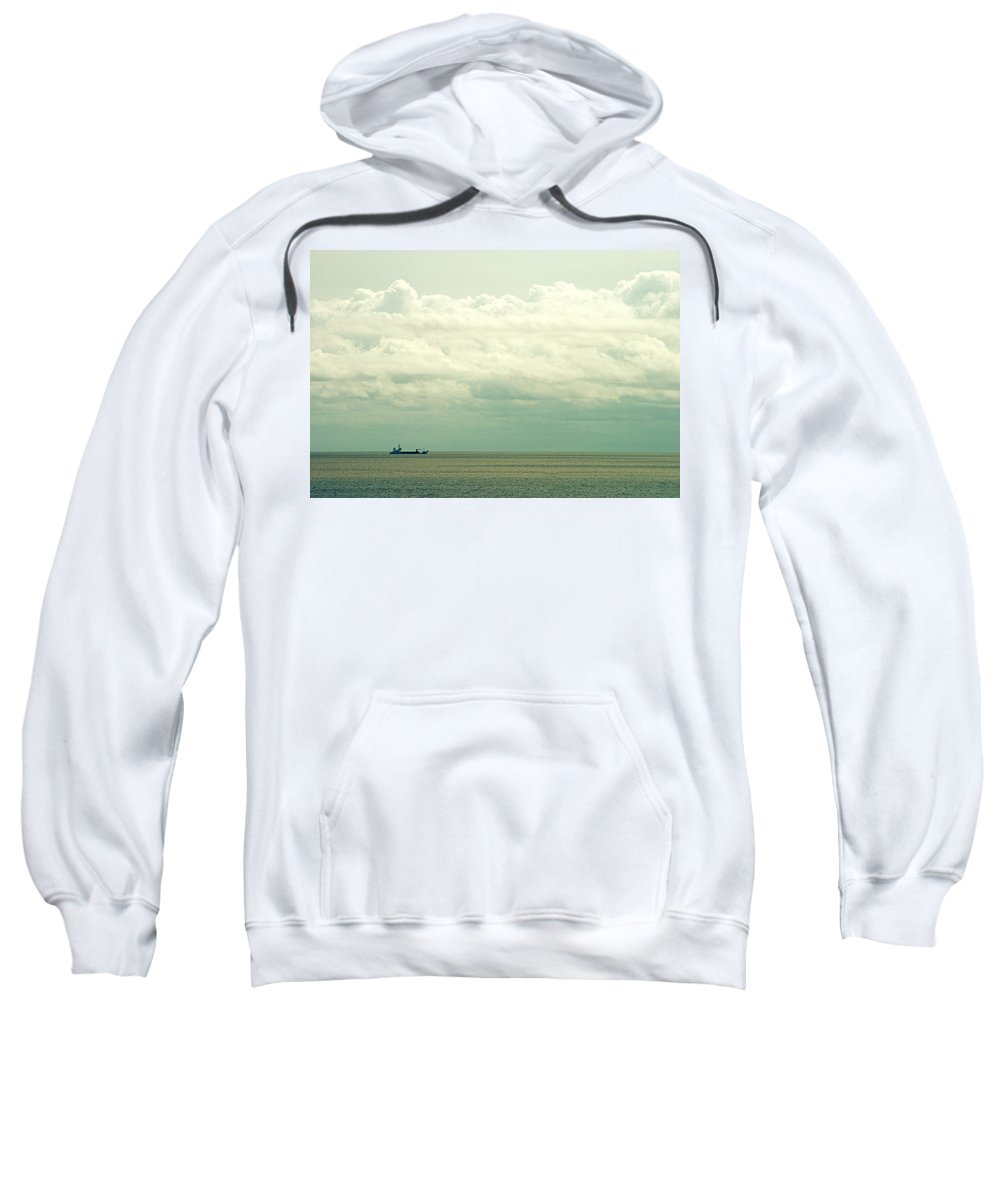 Buenos Aires Sweatshirt featuring the photograph The Ship IIi by Osvaldo Hamer