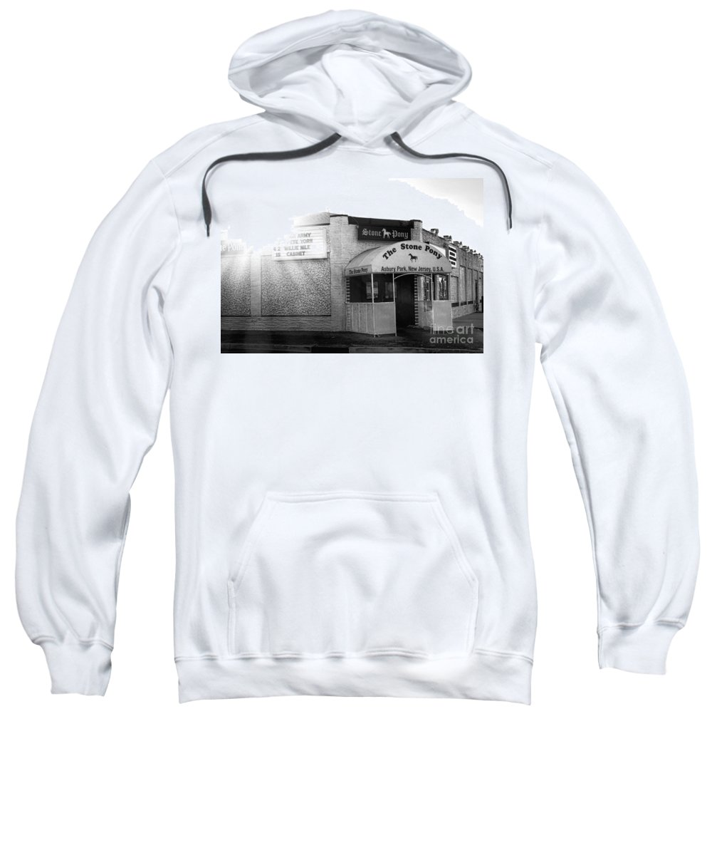 The Sweatshirt featuring the photograph The Stone Pony by Olivier Le Queinec