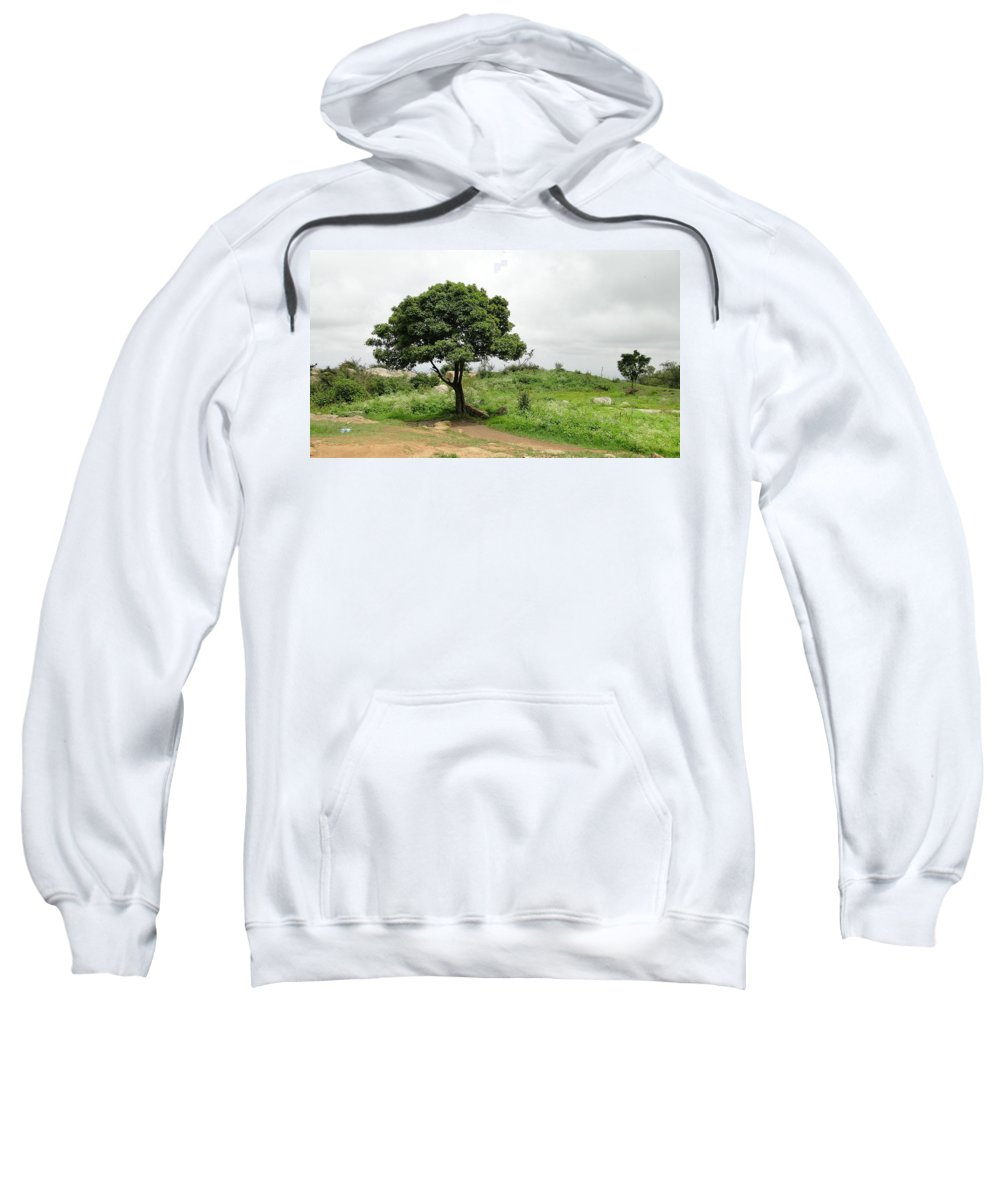 Landscape Sweatshirt featuring the photograph The Tree by Dinesh Kumar