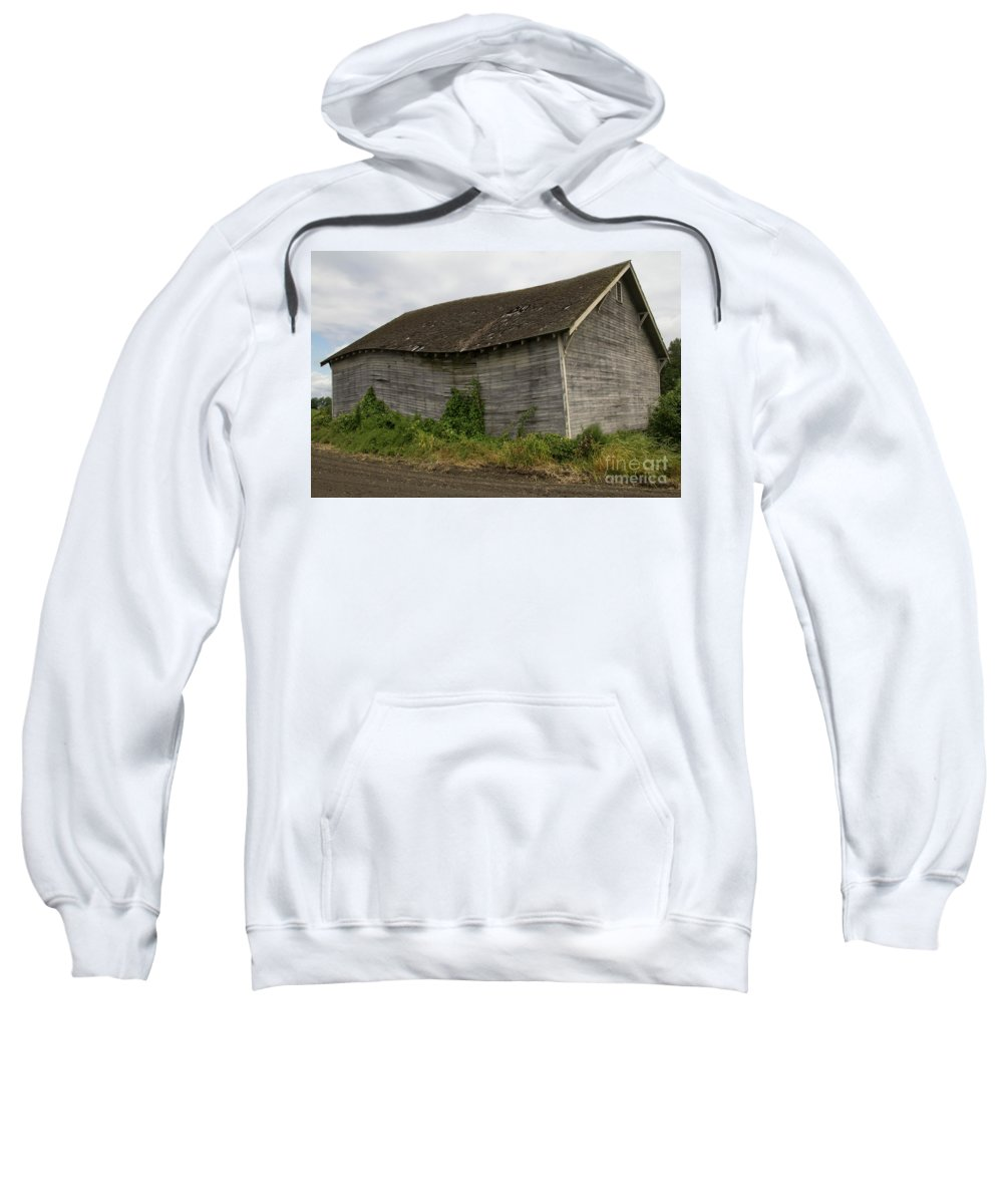 Shed Sweatshirt featuring the photograph The Wave_mg_0068-edit- by Roger Patterson