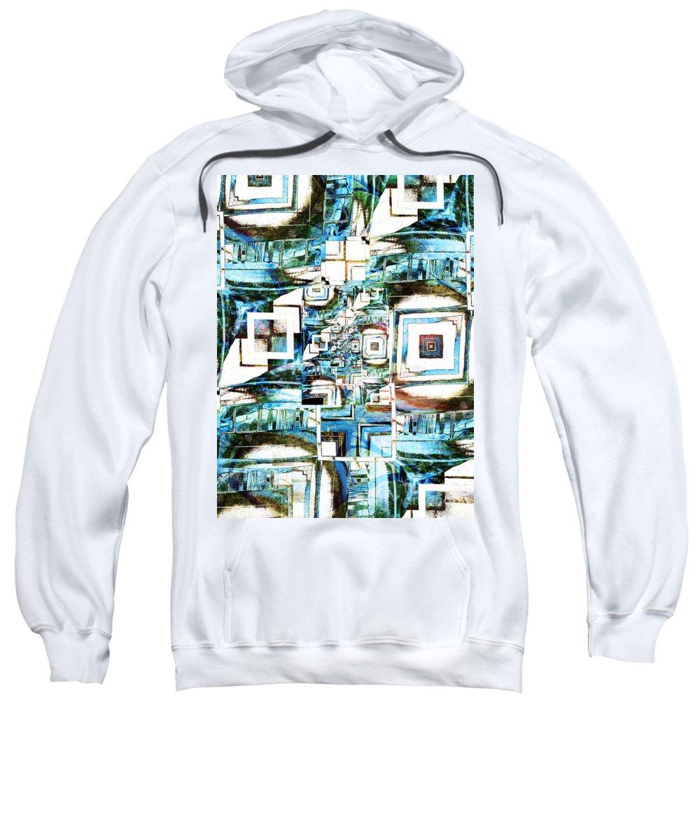Windows Sweatshirt featuring the digital art The Windows by Tara Turner