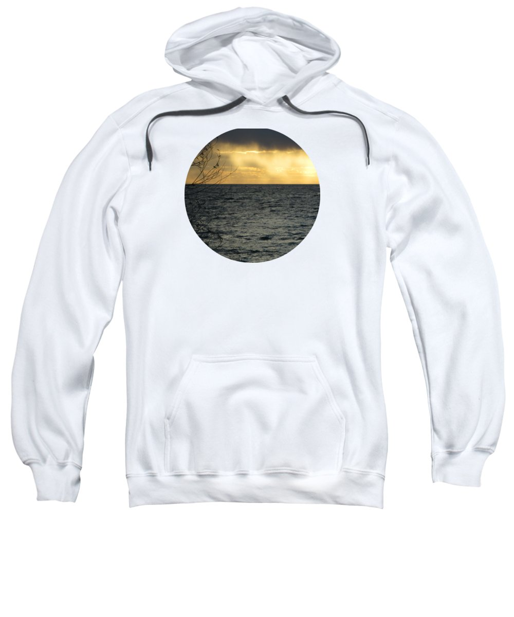 Storm Sweatshirt featuring the photograph The Wonder Of It All by Mary Wolf