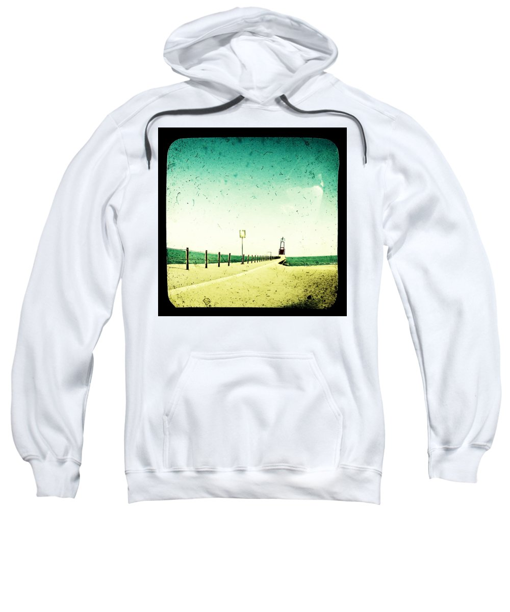 Beach Sweatshirt featuring the photograph These Days Are Gone by Dana DiPasquale