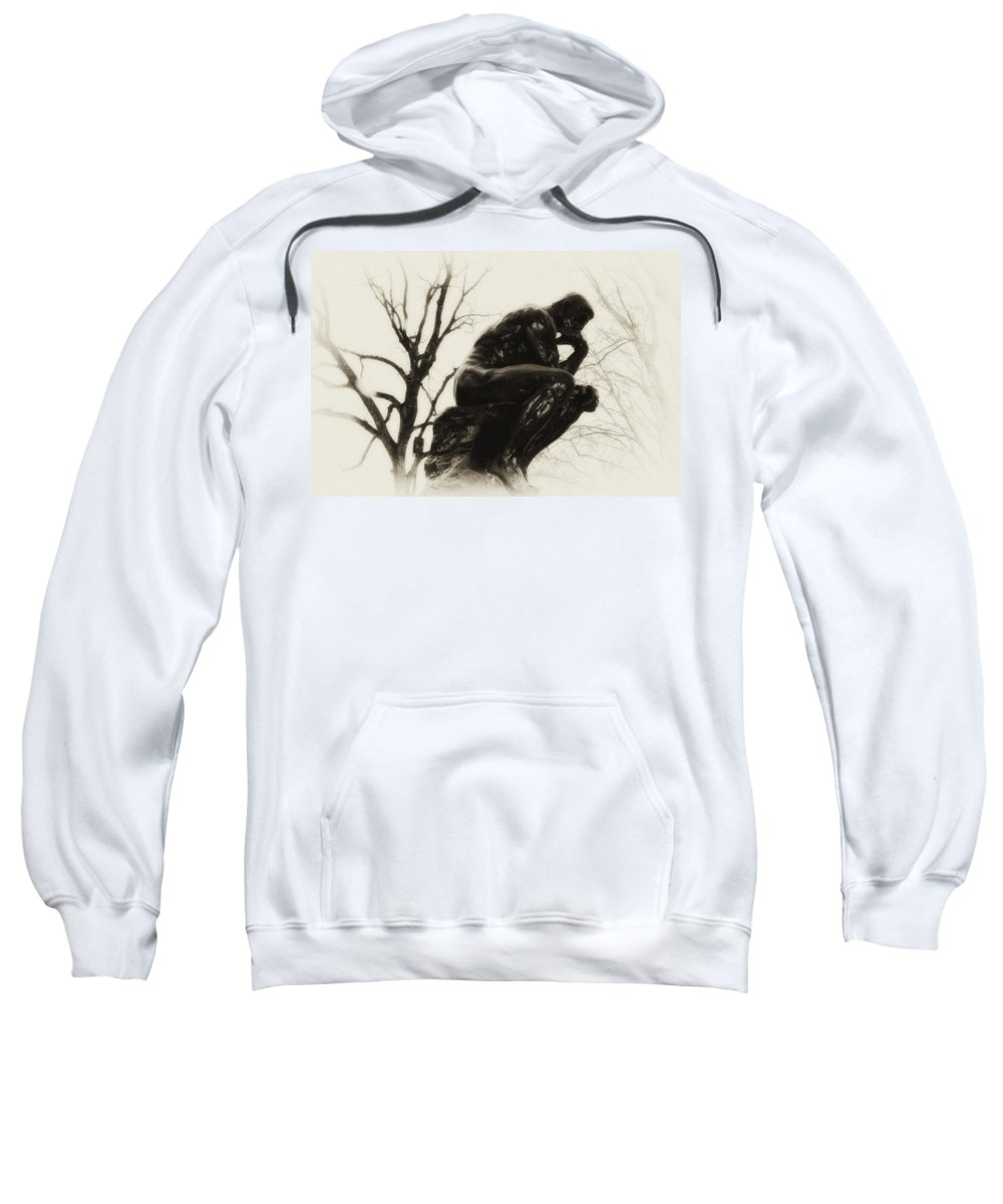 Thinker Sweatshirt featuring the photograph Thinking Of You by Bill Cannon