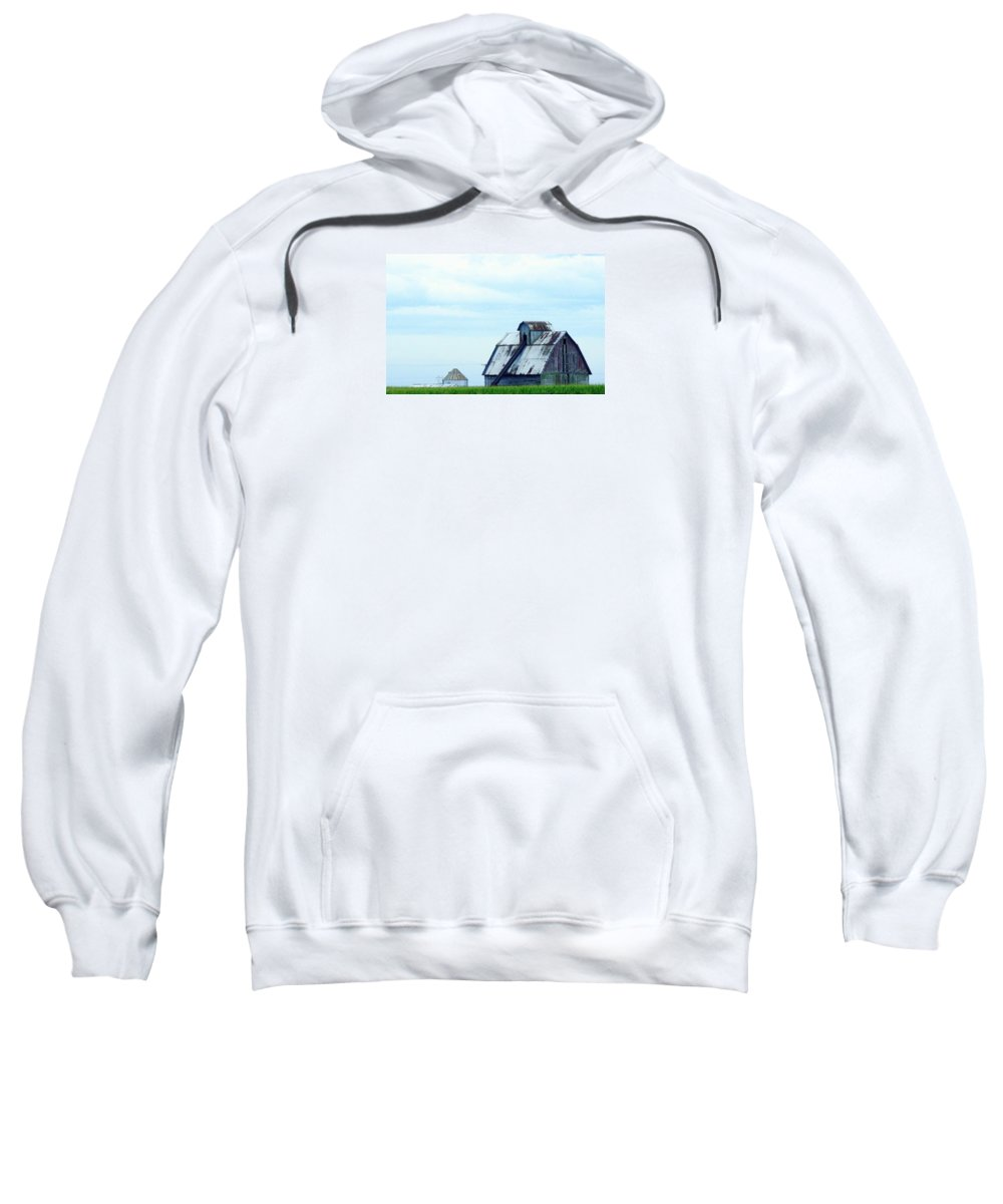 Photography Sweatshirt featuring the photograph This Old Barn by J R Seymour
