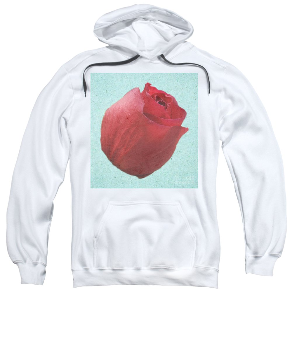 Rose Sweatshirt featuring the photograph Thornless by Jeffrey Kolker