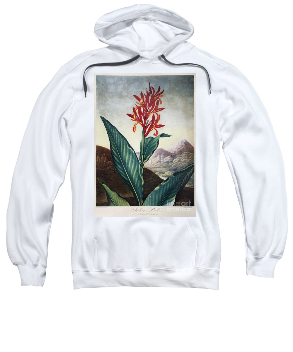 1804 Sweatshirt featuring the photograph Thornton: Indian Reed by Granger