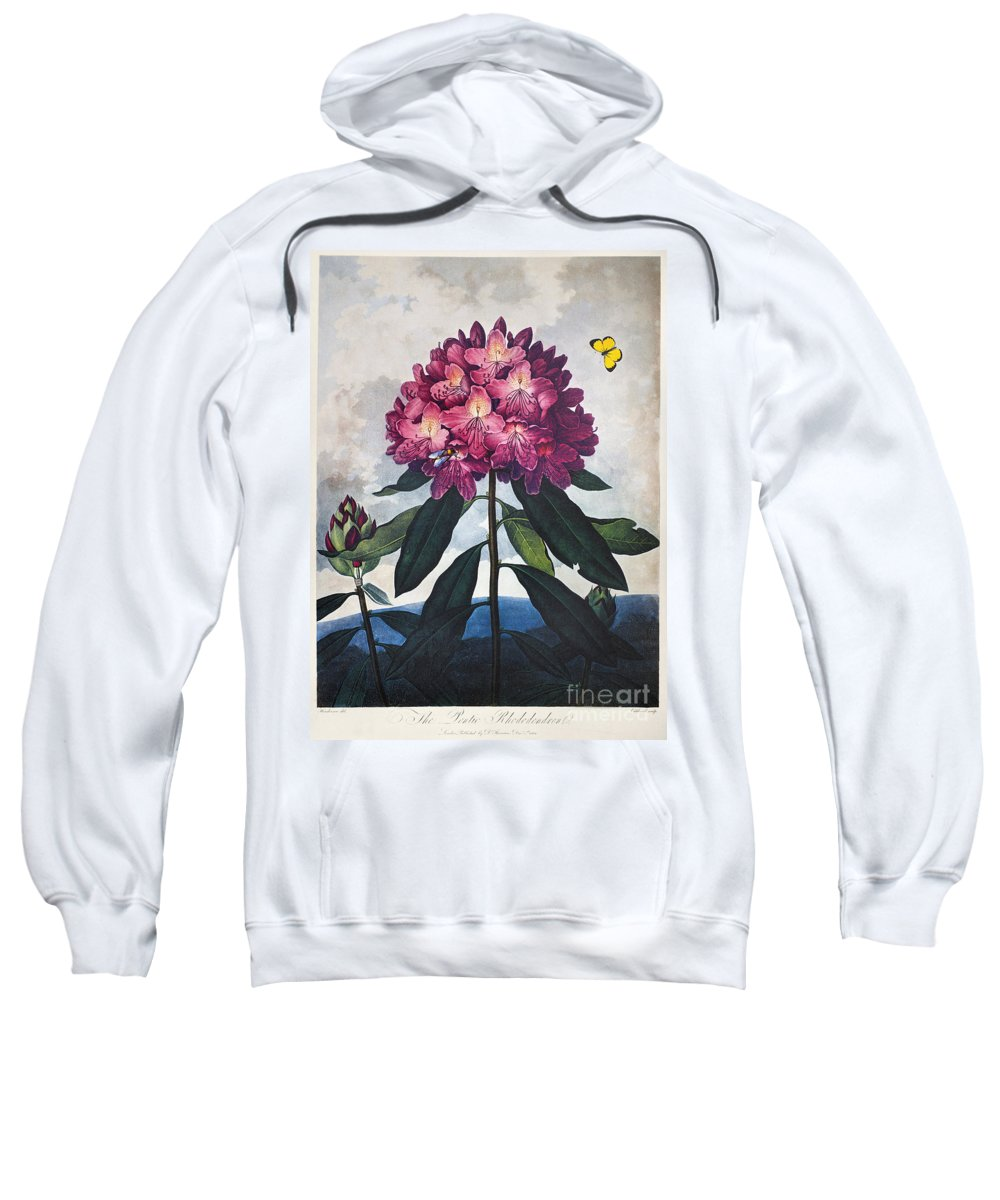 1802 Sweatshirt featuring the photograph Thornton: Rhododendron by Granger
