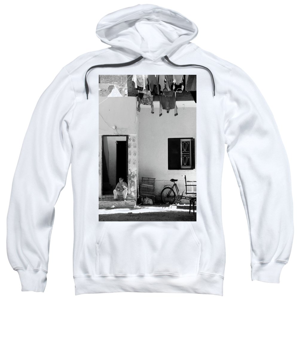 Jezcself Sweatshirt featuring the photograph To Shield by Jez C Self