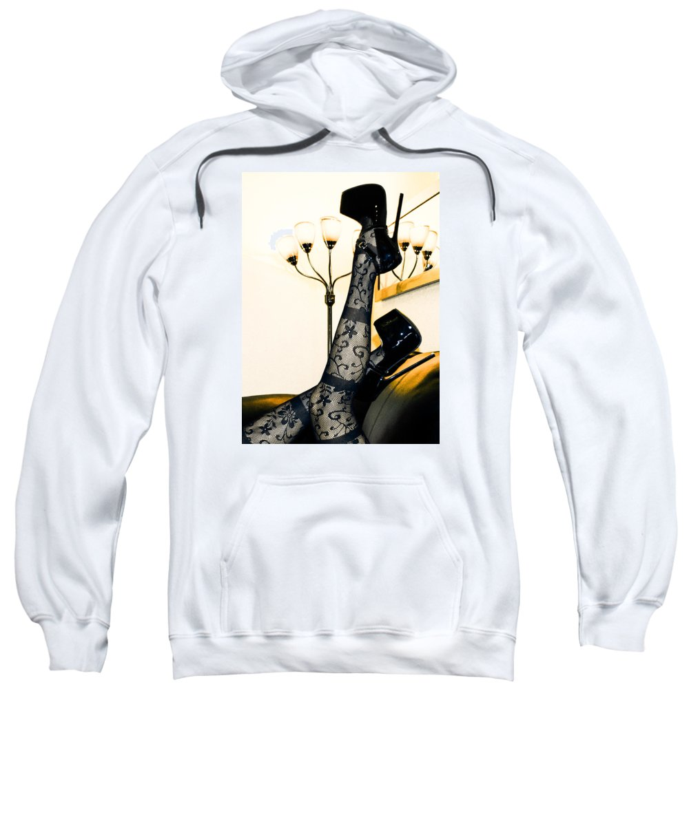 Sweatshirt featuring the photograph To The Point by Maddison Savage