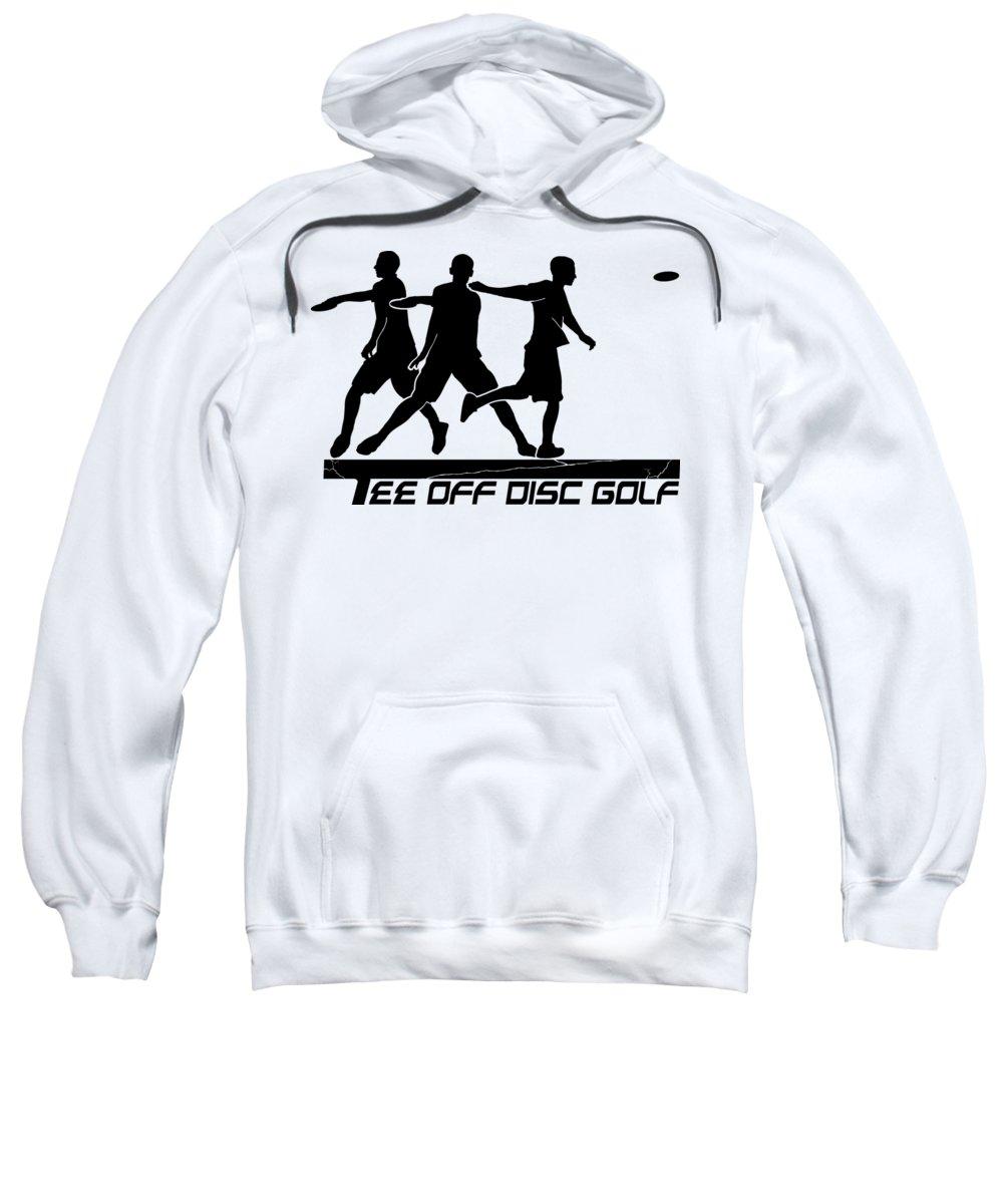 Tee Sweatshirt featuring the digital art Todg Black Logo by Tim Ouderkirk