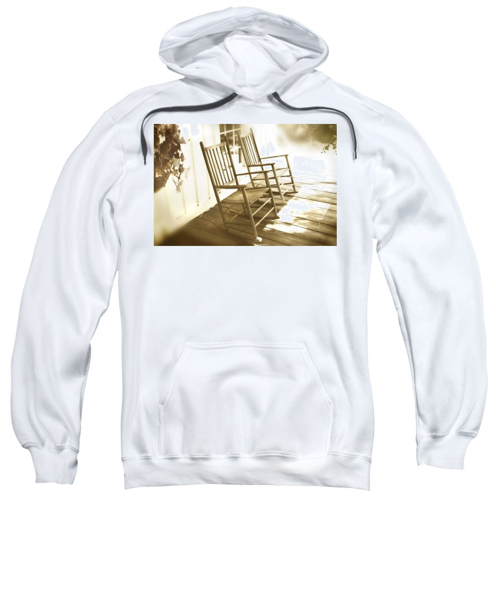 Together Sweatshirt featuring the photograph Together by Mal Bray