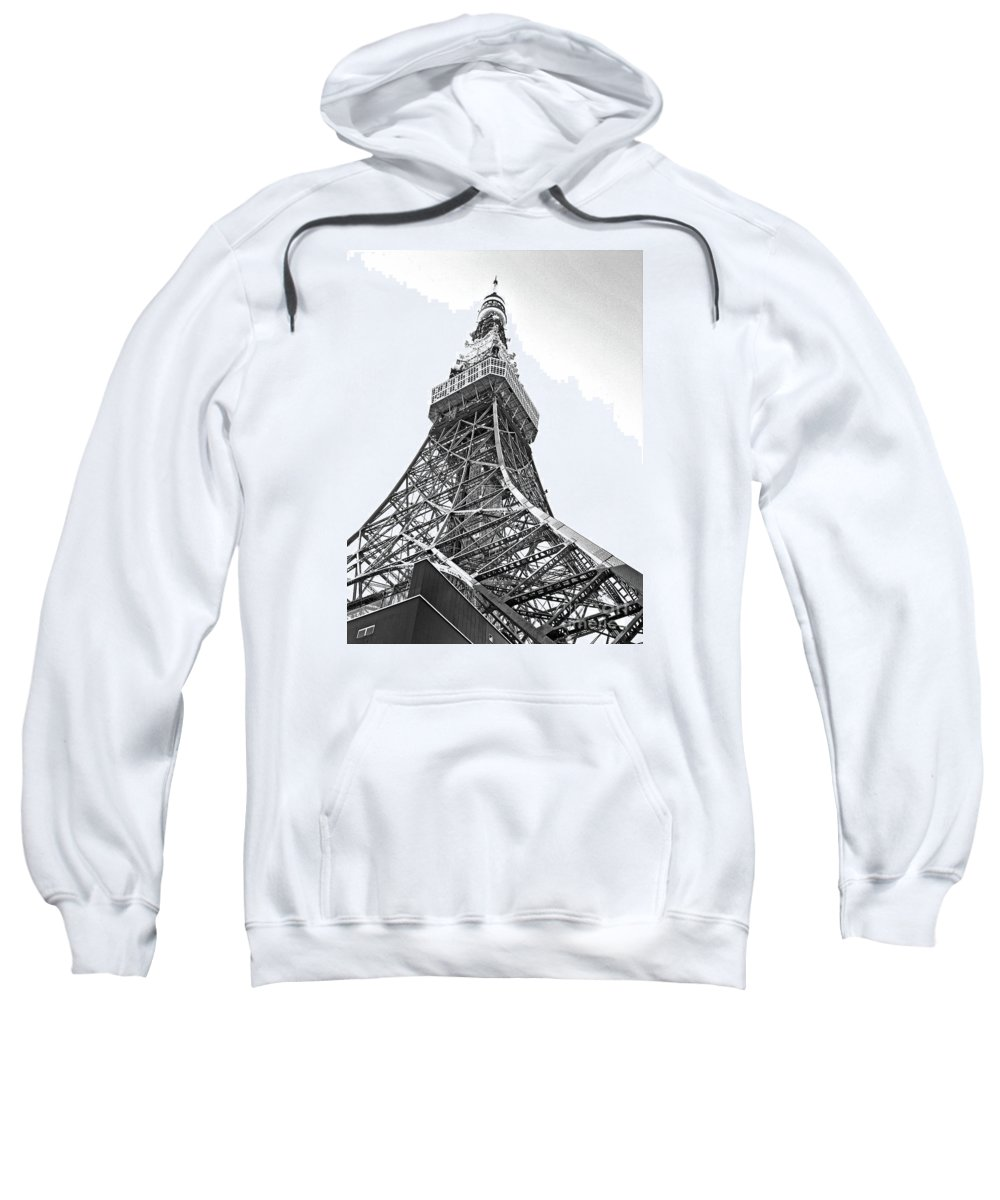 Tokyo Tower Sweatshirt featuring the photograph Tokyo Tower by Marie Loh