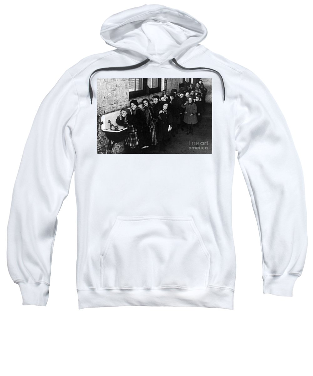Brushing Sweatshirt featuring the photograph Toothbrush Drill by Science Source