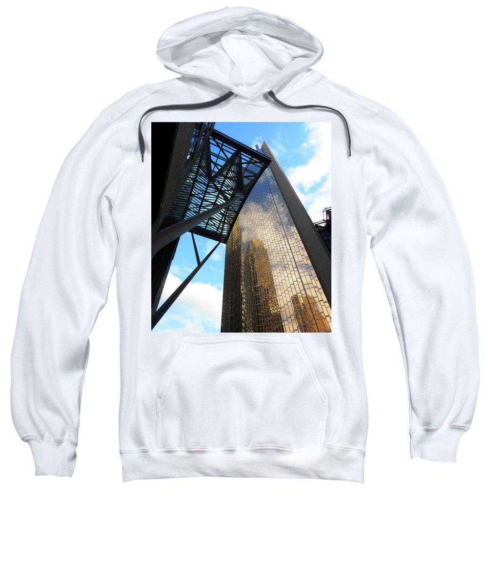 Toronto Sweatshirt featuring the photograph Toronto 7 by Ron Kandt