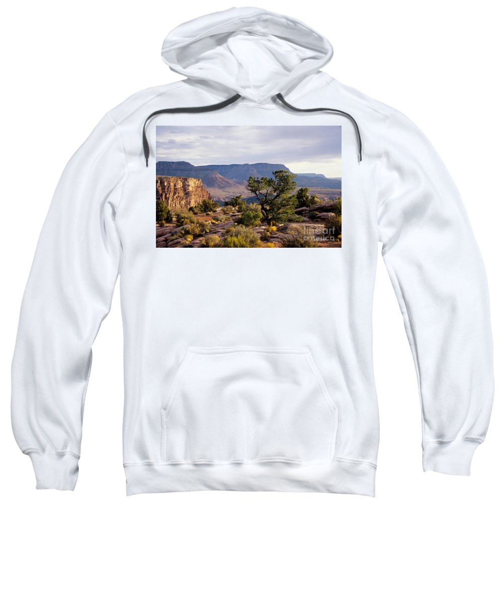 Arizona Sweatshirt featuring the photograph Toroweap by Kathy McClure