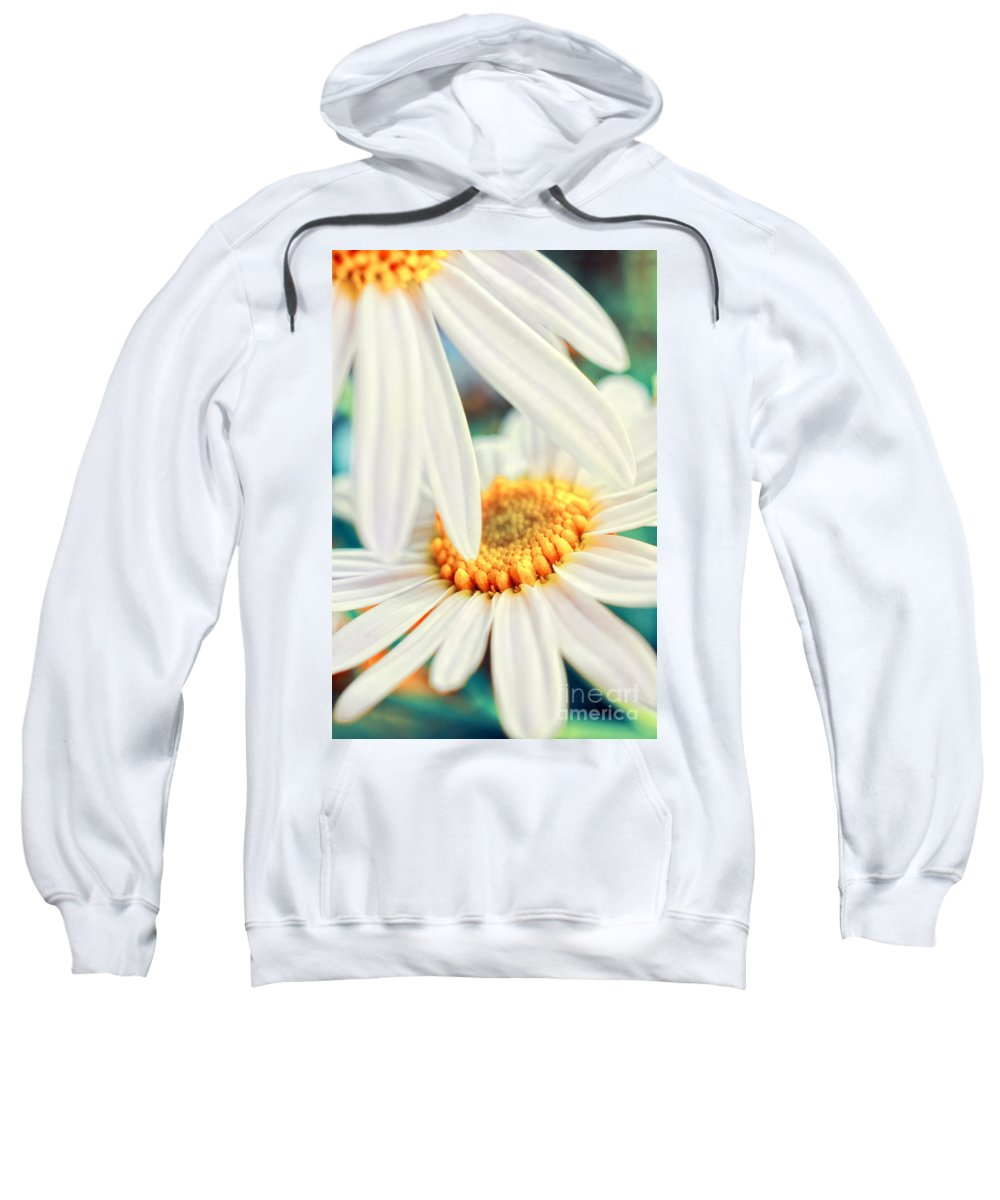 Flowers Sweatshirt featuring the photograph Touch by Silvia Ganora