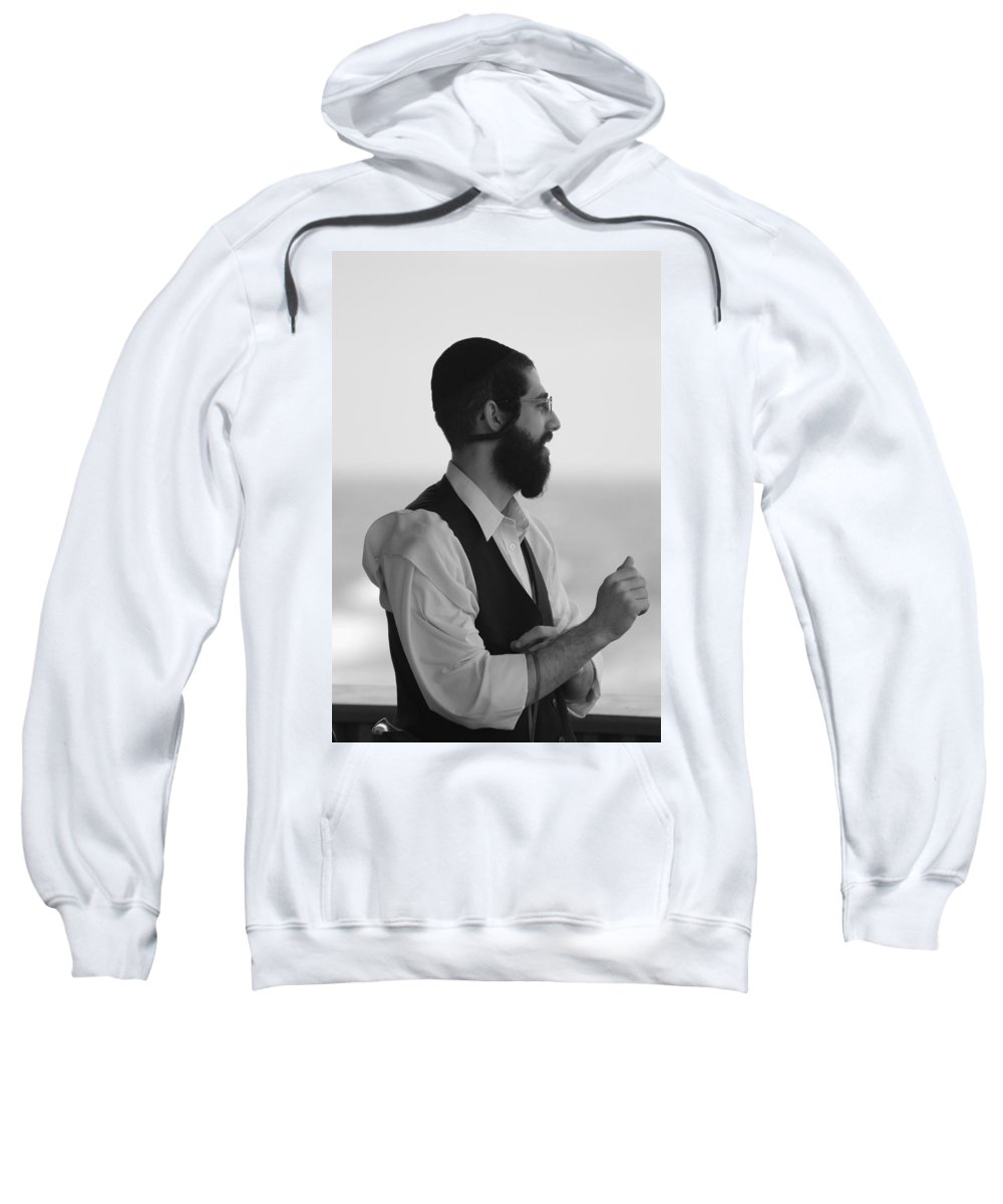 Black And White Sweatshirt featuring the photograph Tradition by Rob Hans