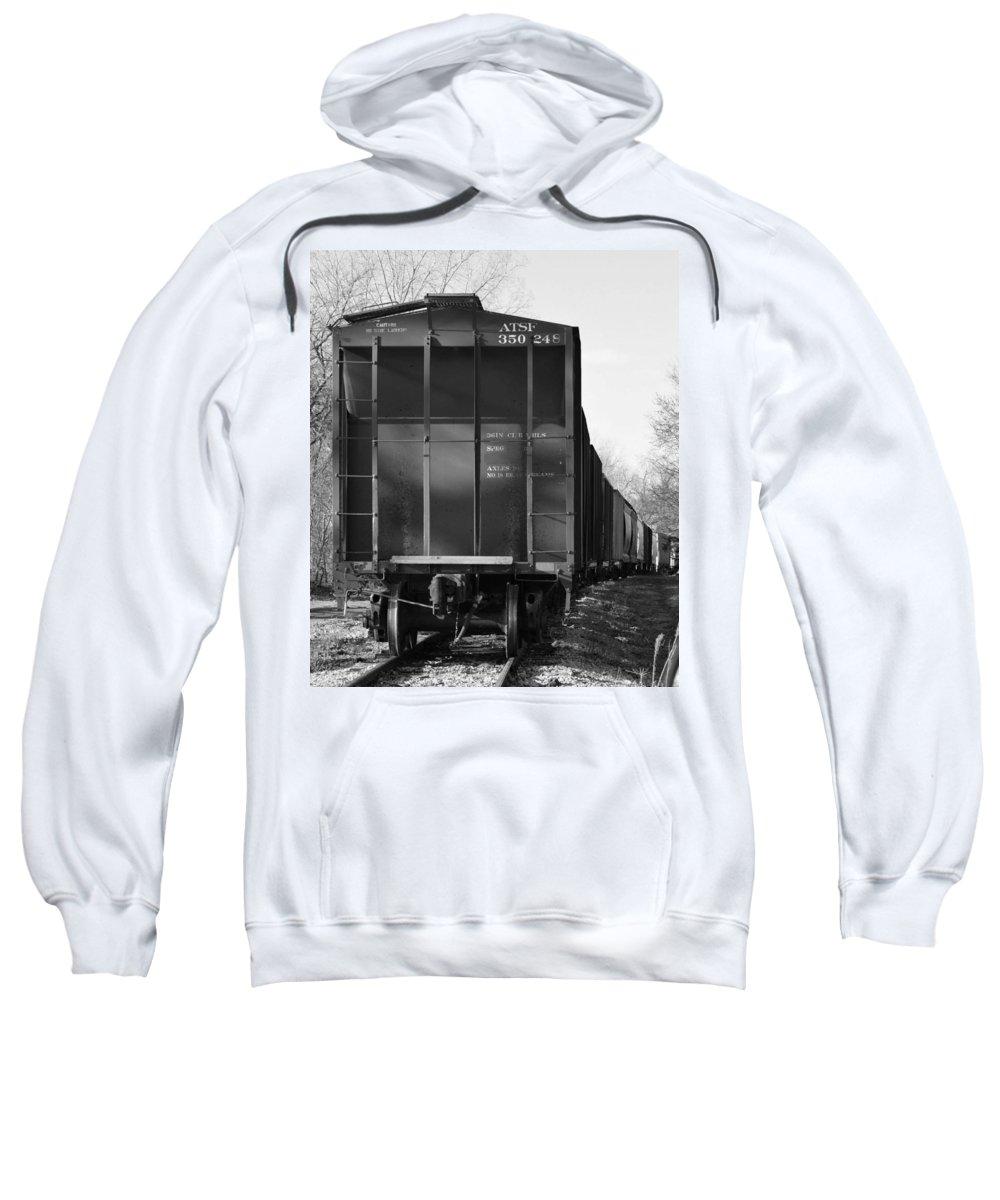Sweatshirt featuring the photograph Train by Renee Seastrom