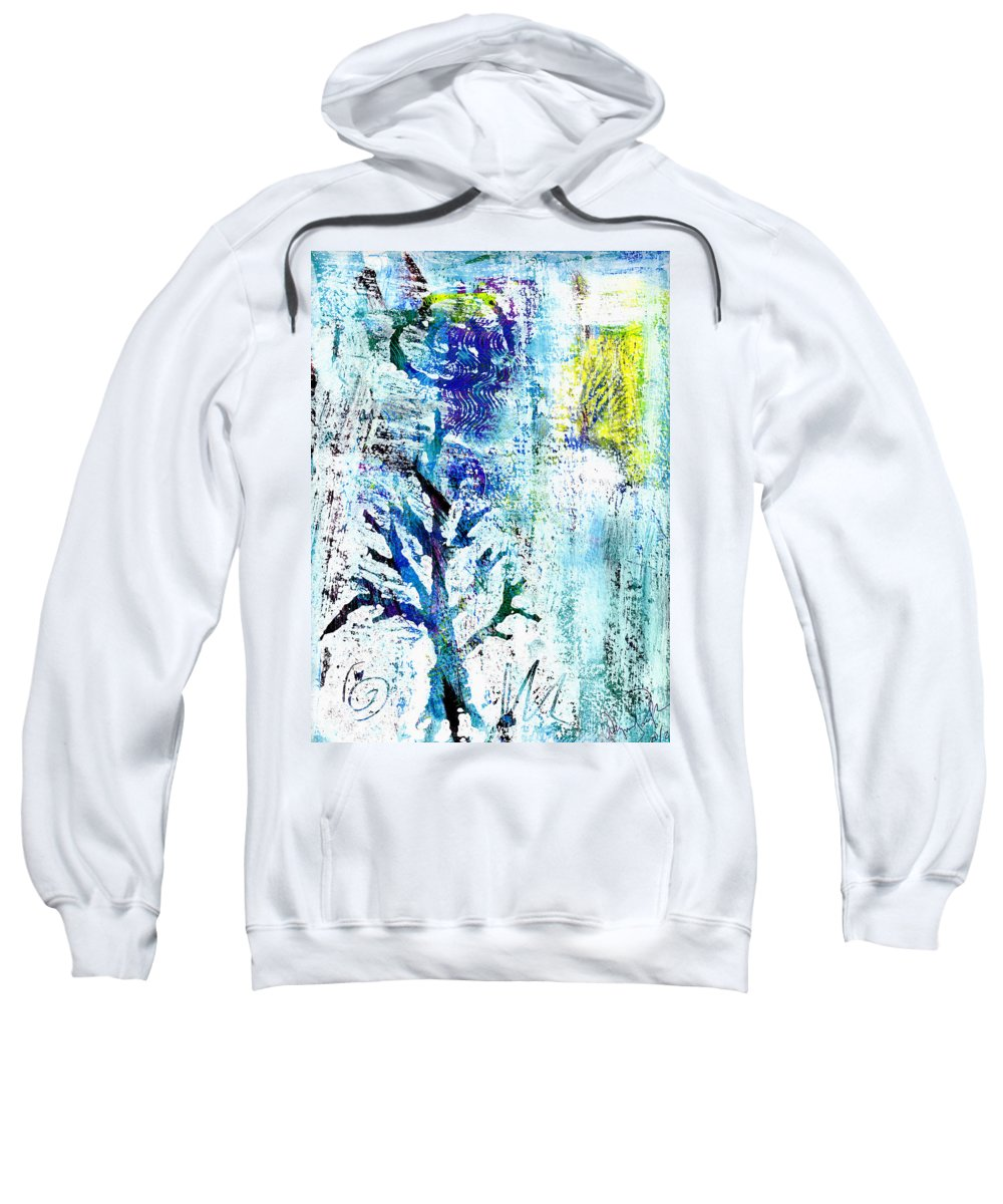 Tree Sweatshirt featuring the painting Tree Of Life by Wayne Potrafka