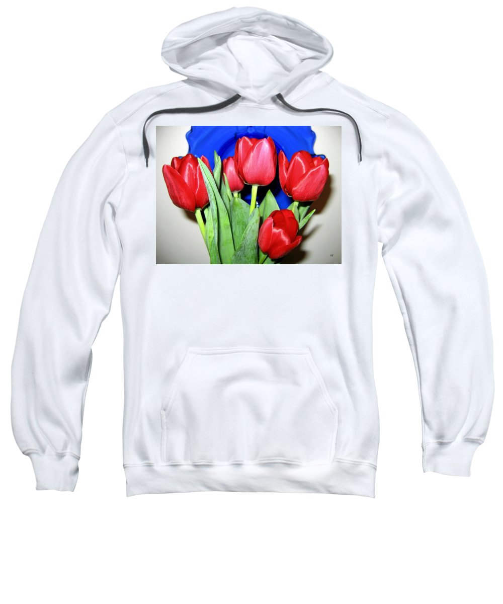 Tulips Sweatshirt featuring the photograph Tulipfest 1 by Will Borden