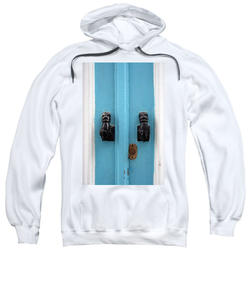 Tunisiandoor Sweatshirt featuring the photograph Tunisiandoor4 by Yesim Tetik