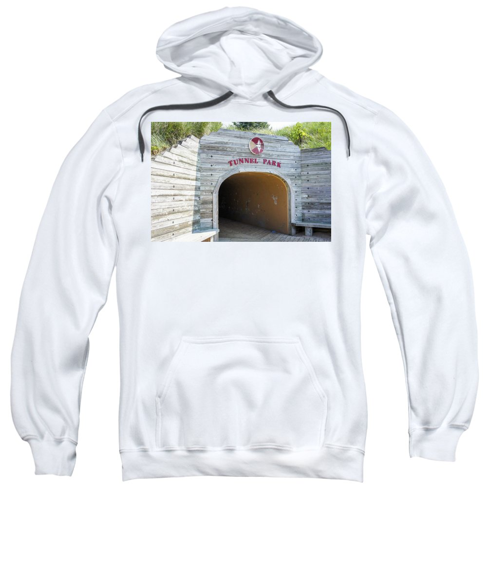 Holland Sweatshirt featuring the photograph Tunnel Park, Holland Mi by Art Spectrum