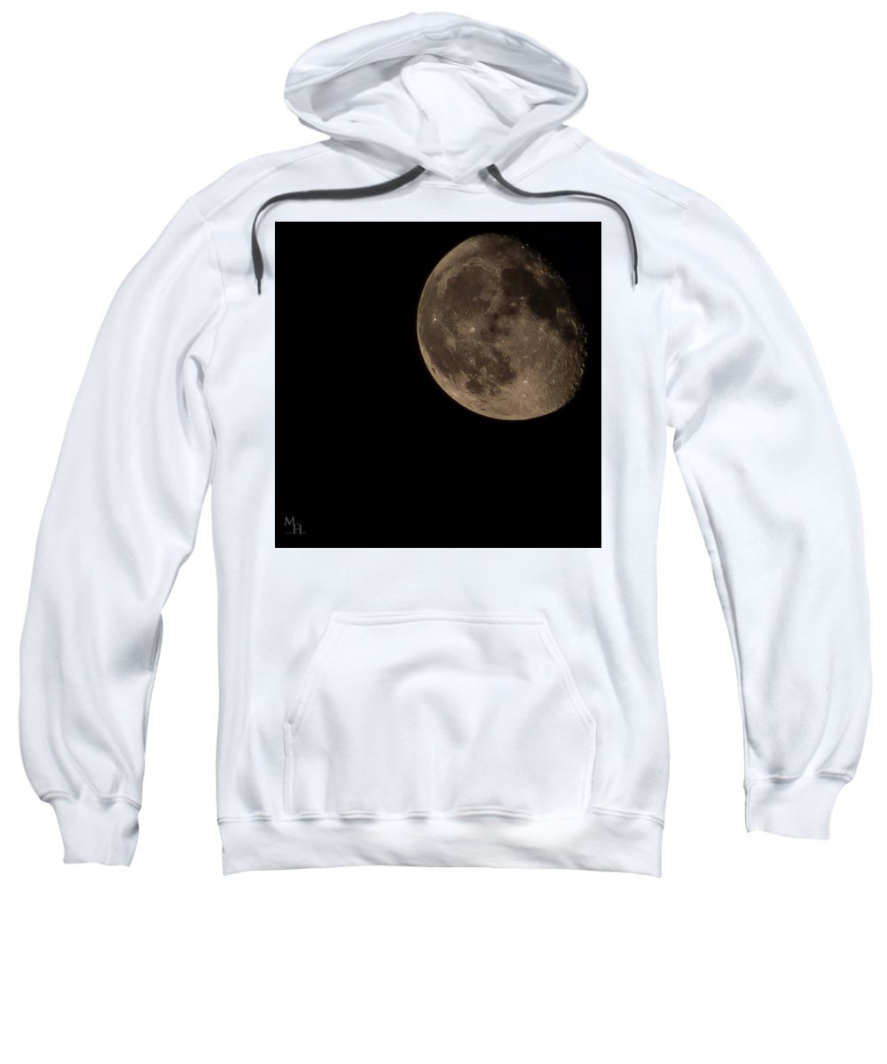 Moon Sweatshirt featuring the photograph Twilight by Justin Hicks