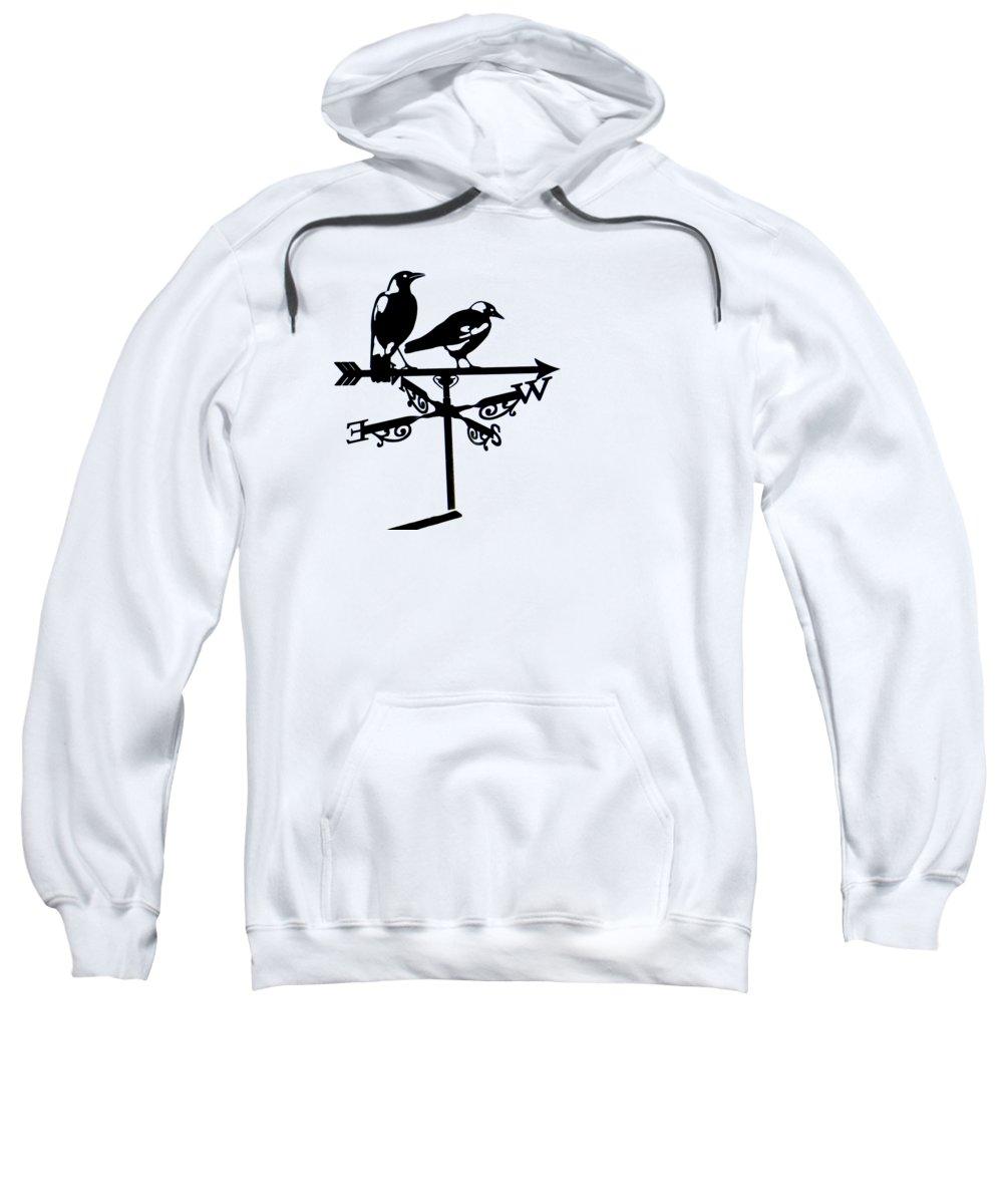 Magpies Hooded Sweatshirts T-Shirts