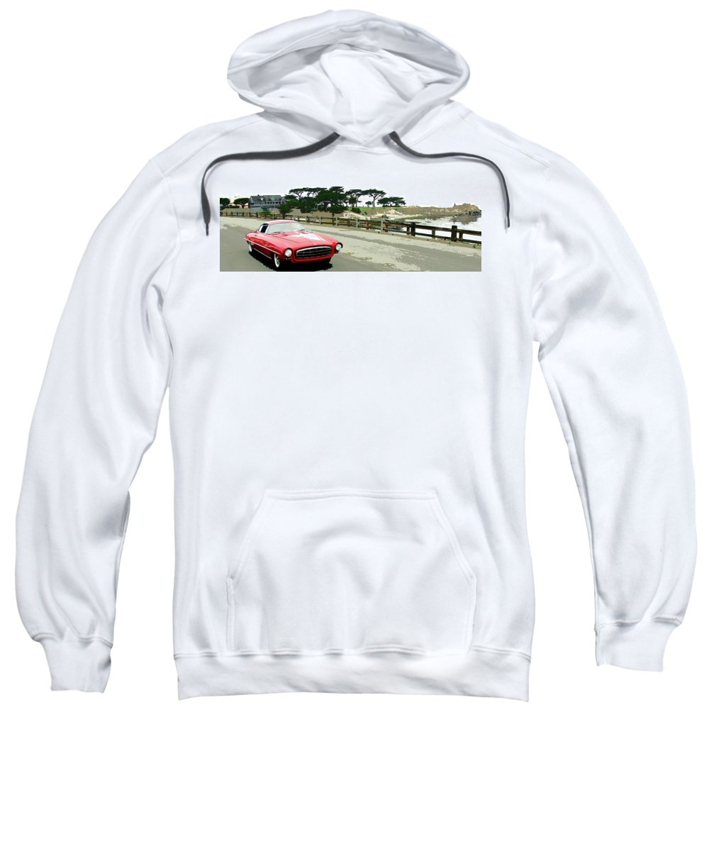 Automobile Sweatshirt featuring the photograph UFO by Alan Olmstead