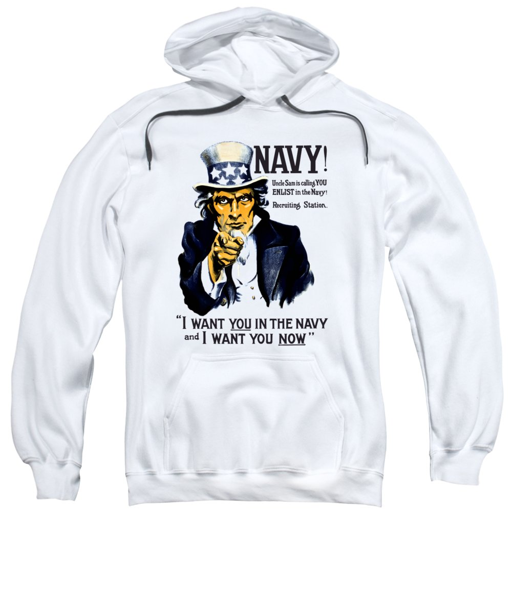 Navy Hooded Sweatshirts T-Shirts