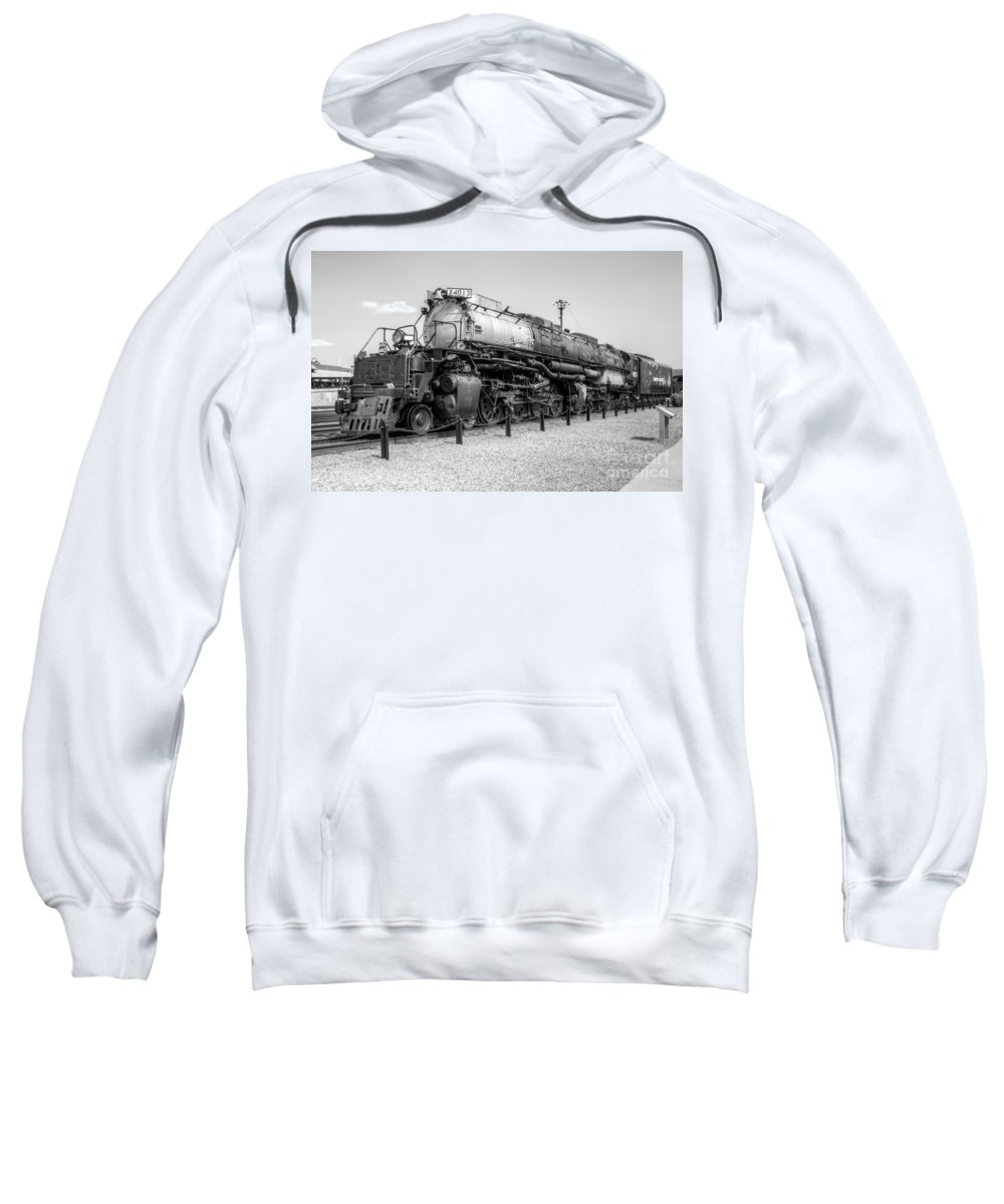 Trains Sweatshirt featuring the photograph Union Pacific 4012 by Anthony Sacco