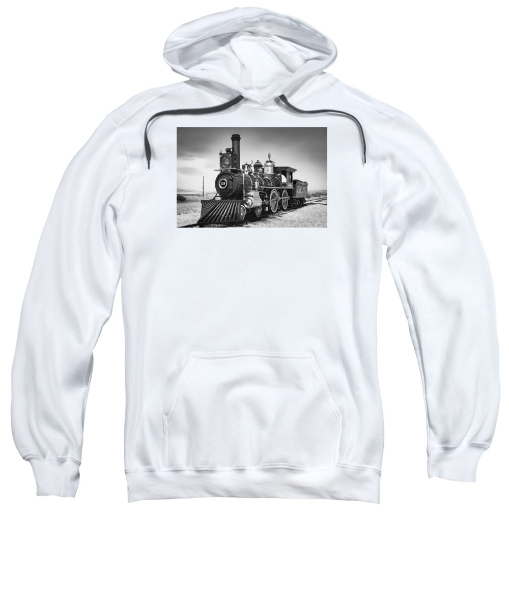 Union Pacific Sweatshirt featuring the photograph Union Pacific No. 119 by Rick Pisio
