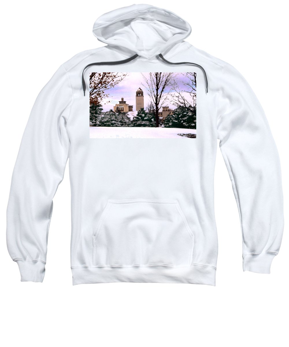 Landscape Sweatshirt featuring the photograph Unity Village by Steve Karol