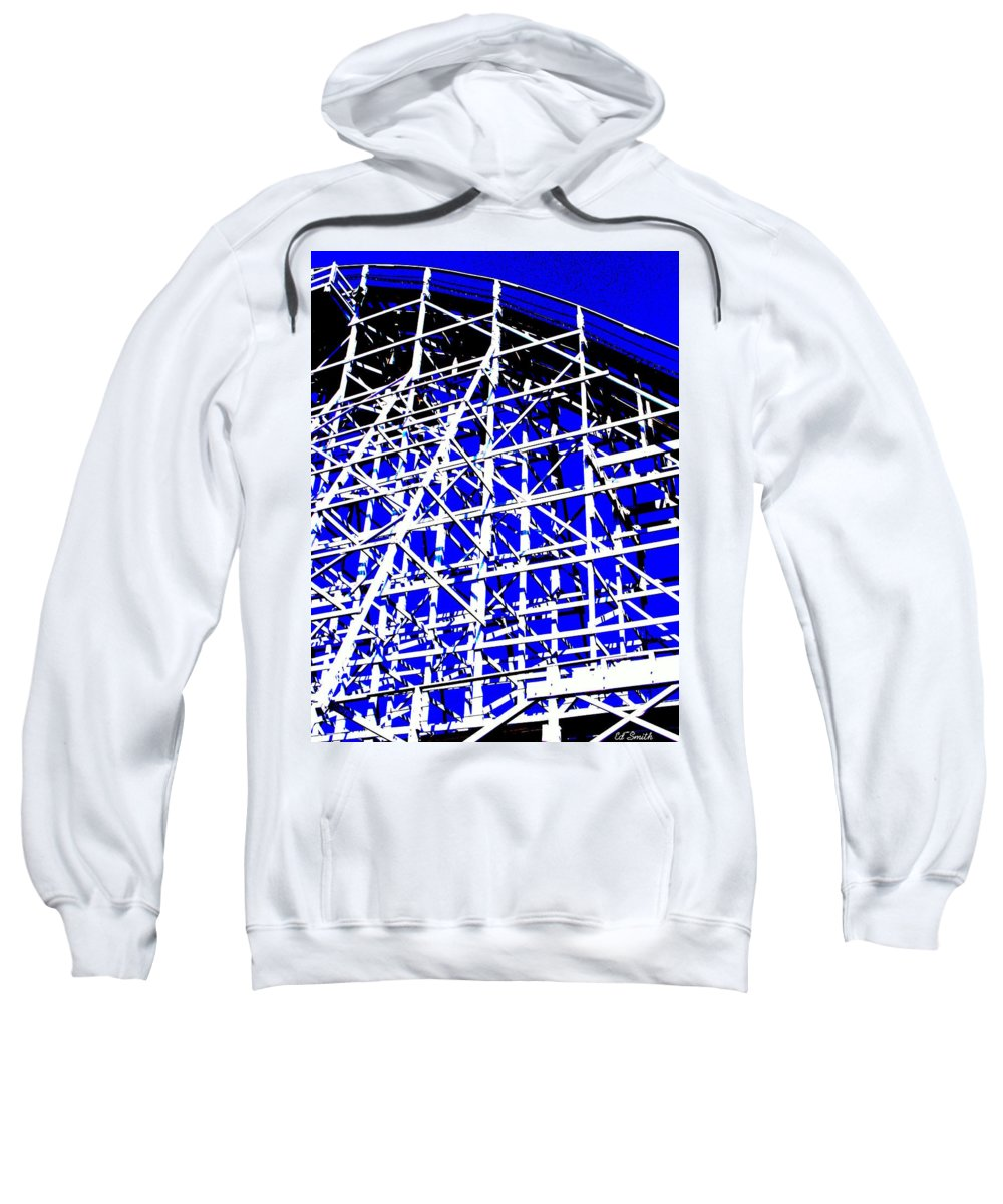 Up And Away Sweatshirt featuring the photograph Up And Away by Ed Smith