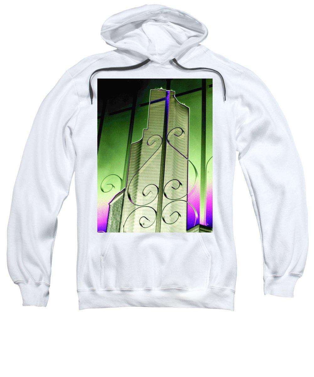 Seattle Sweatshirt featuring the photograph Urban Reflection 2 by Tim Allen