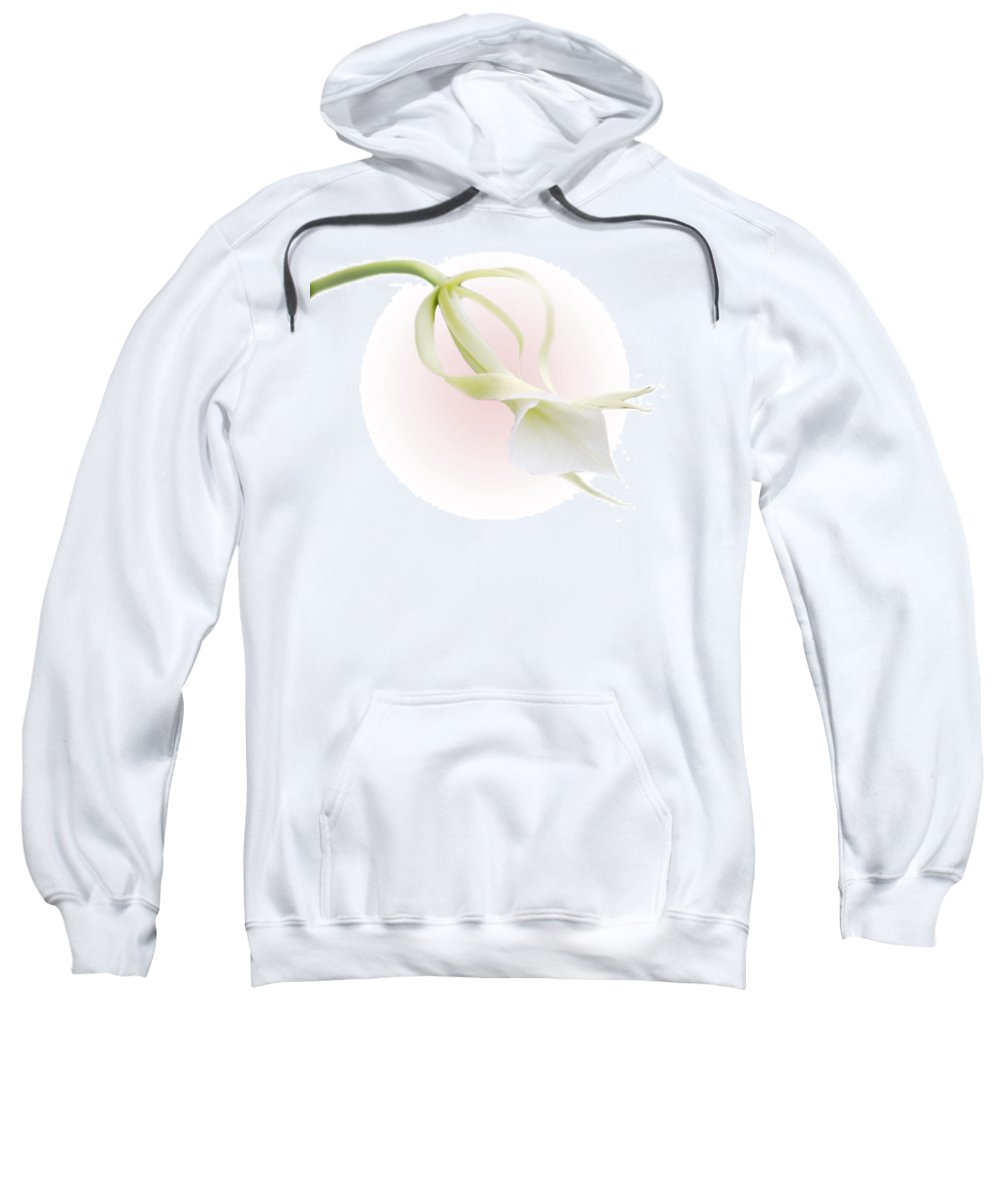 Love Sweatshirt featuring the photograph Valentine Orchid by Marilyn Hunt