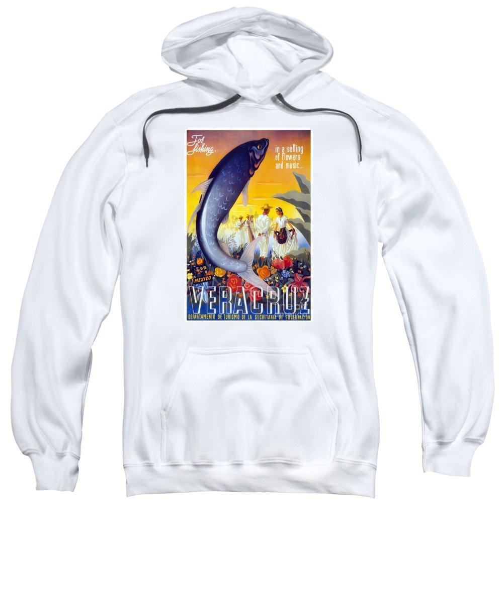 Veracruz Sweatshirt featuring the painting Veracruz by Pd