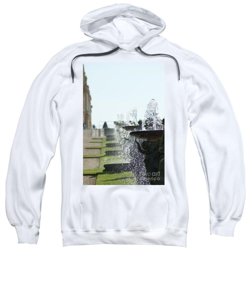 Versailles Sweatshirt featuring the photograph Versailles Fountains by Christine Jepsen
