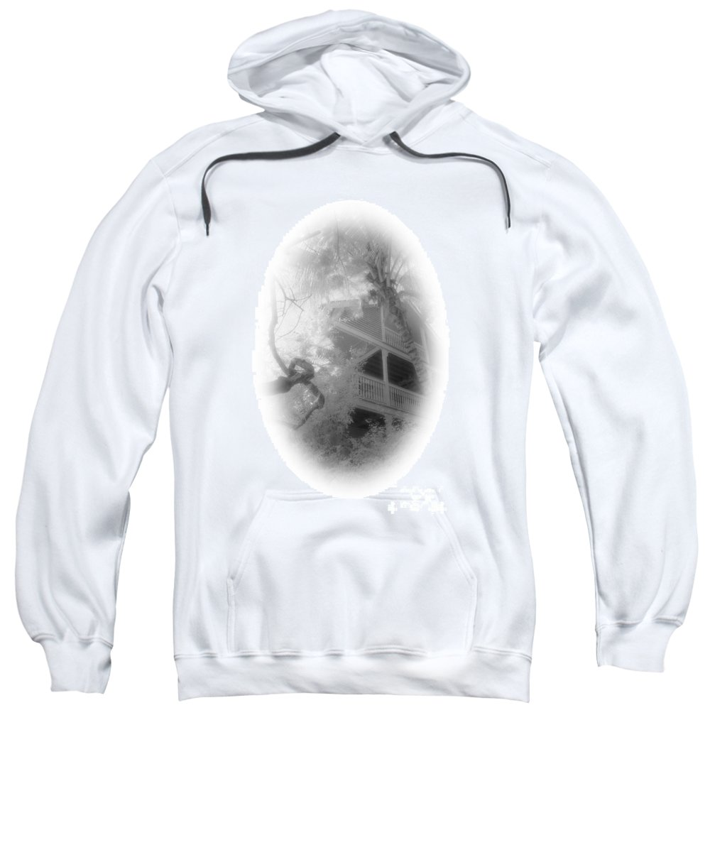 Balcony Sweatshirt featuring the photograph View Of The Balcony by Richard Rizzo