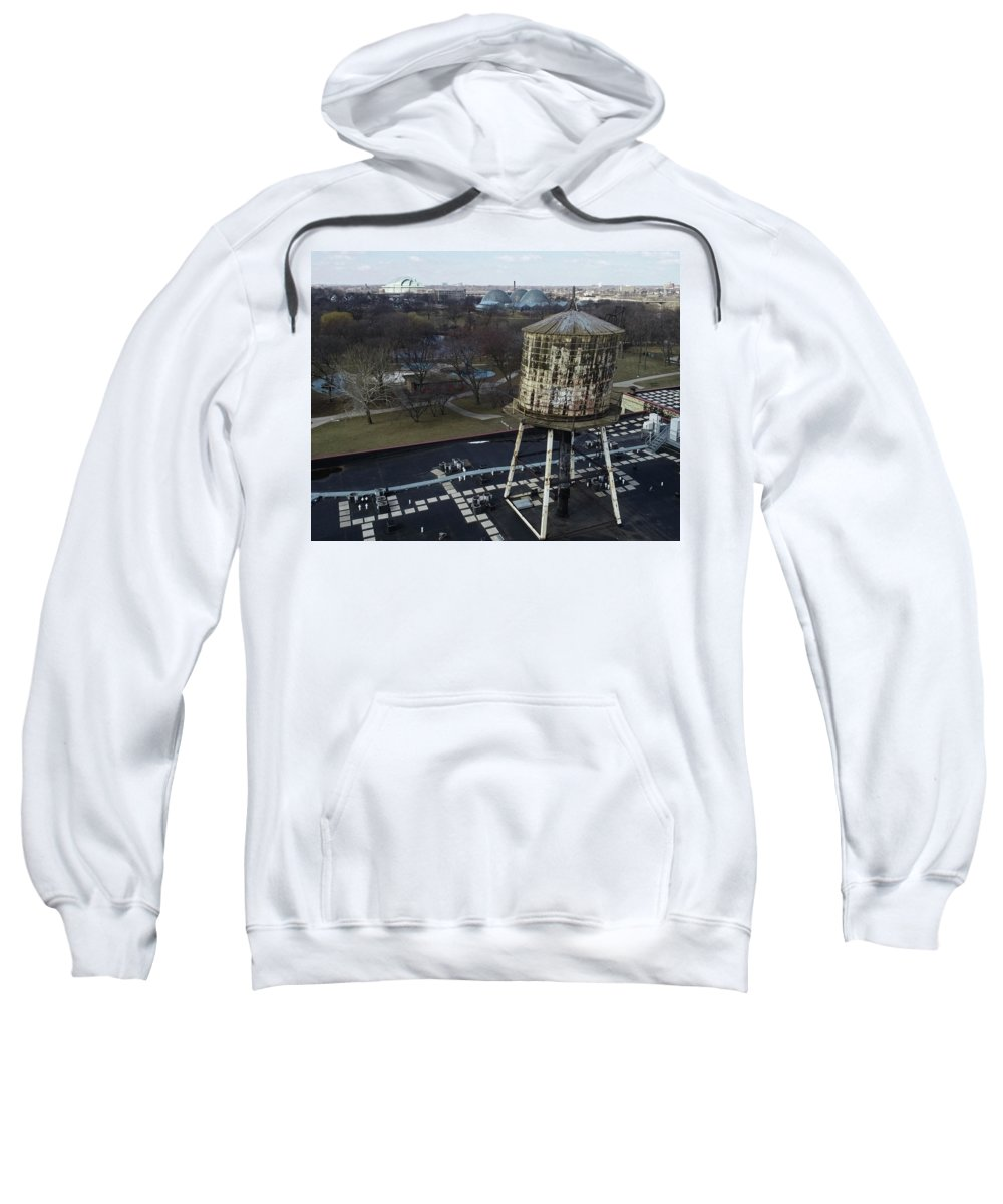 Knitting Factory Sweatshirt featuring the photograph Milwaukee by Steve Bell