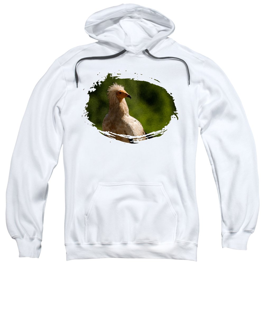 Vultures Sweatshirt featuring the photograph Vulture by Cliff Norton