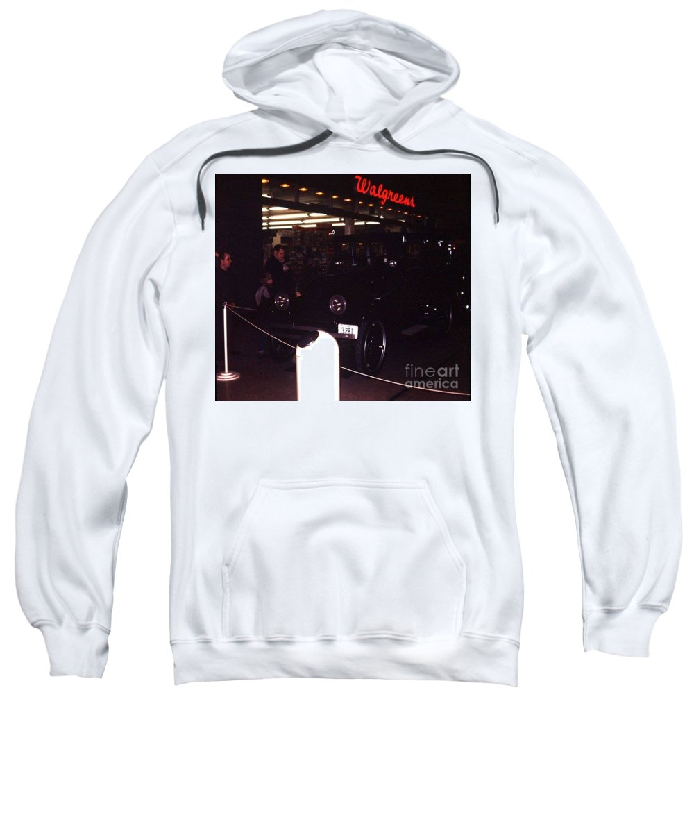Walgreen's Sweatshirt featuring the photograph Walgreen's Store At River Roads by Dwayne Pounds