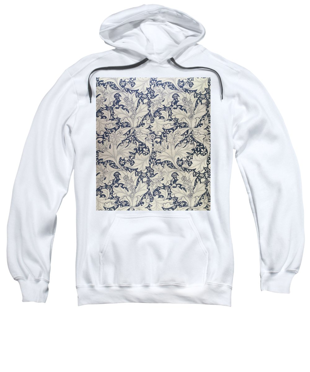 Wallflower Sweatshirt featuring the tapestry - textile 'wallflower' Design by William Morris