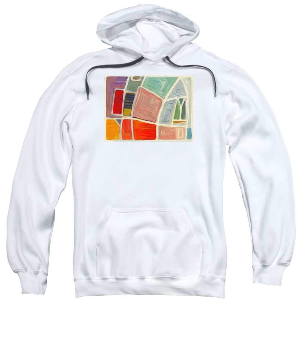 Judith Chantler Sweatshirt featuring the digital art Watching Out by Judith Chantler