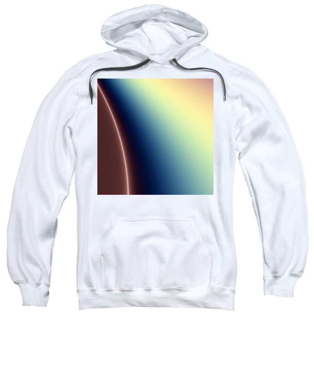 Digital Art Sweatshirt featuring the digital art Way Out II by Dragica Micki Fortuna